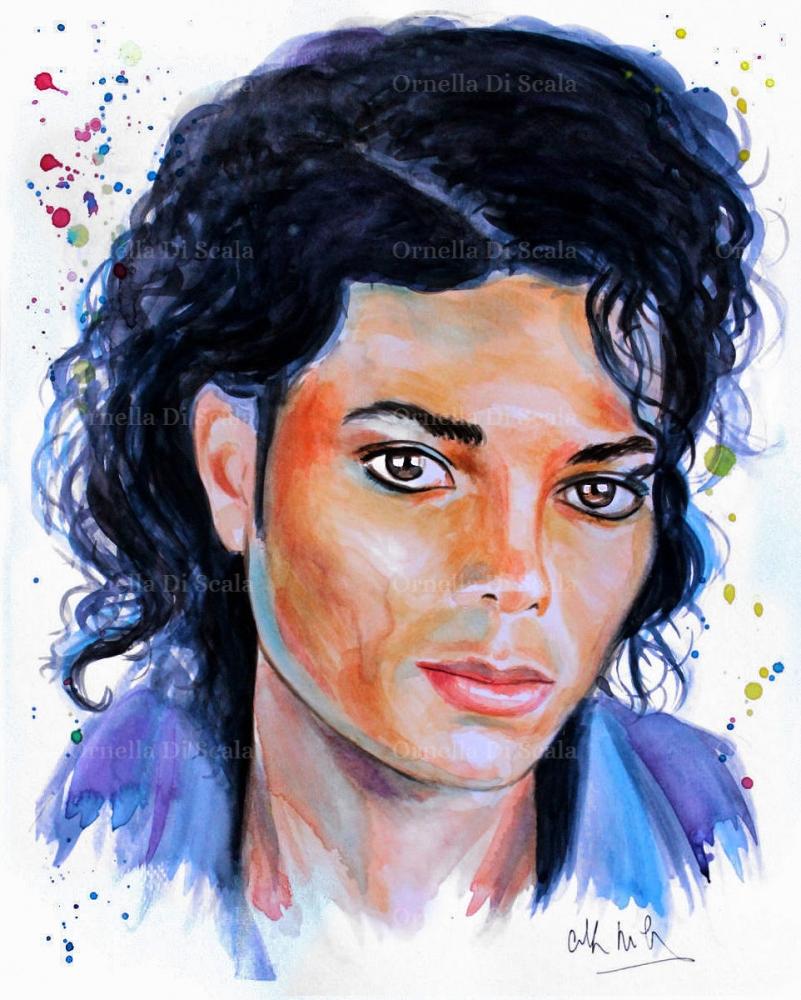 Michael Jackson by velvetdressx